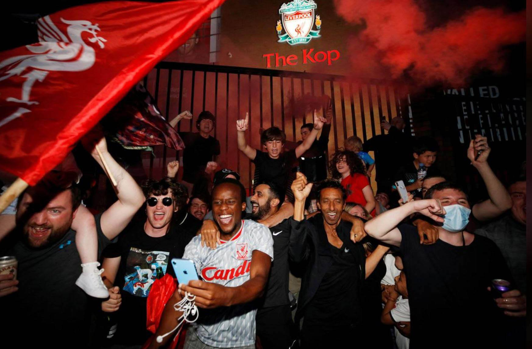 Liverpool Premier League title