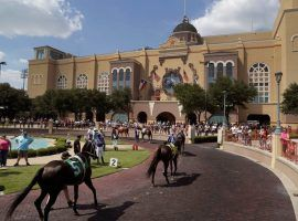 Lone Star Park opened for racing May 22, but opens for fans this Sunday. It joins Minnesota's Canterbury Park in allowing spectators inside its racetracks. (Image: Brad Loper/Special to Fort Worth Star-Telegram)