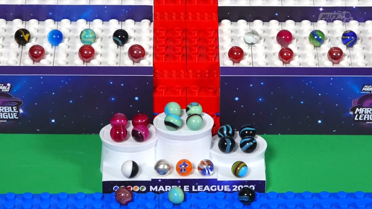Marble League 2020 E1 E2 Minty Maniacs O'rangers