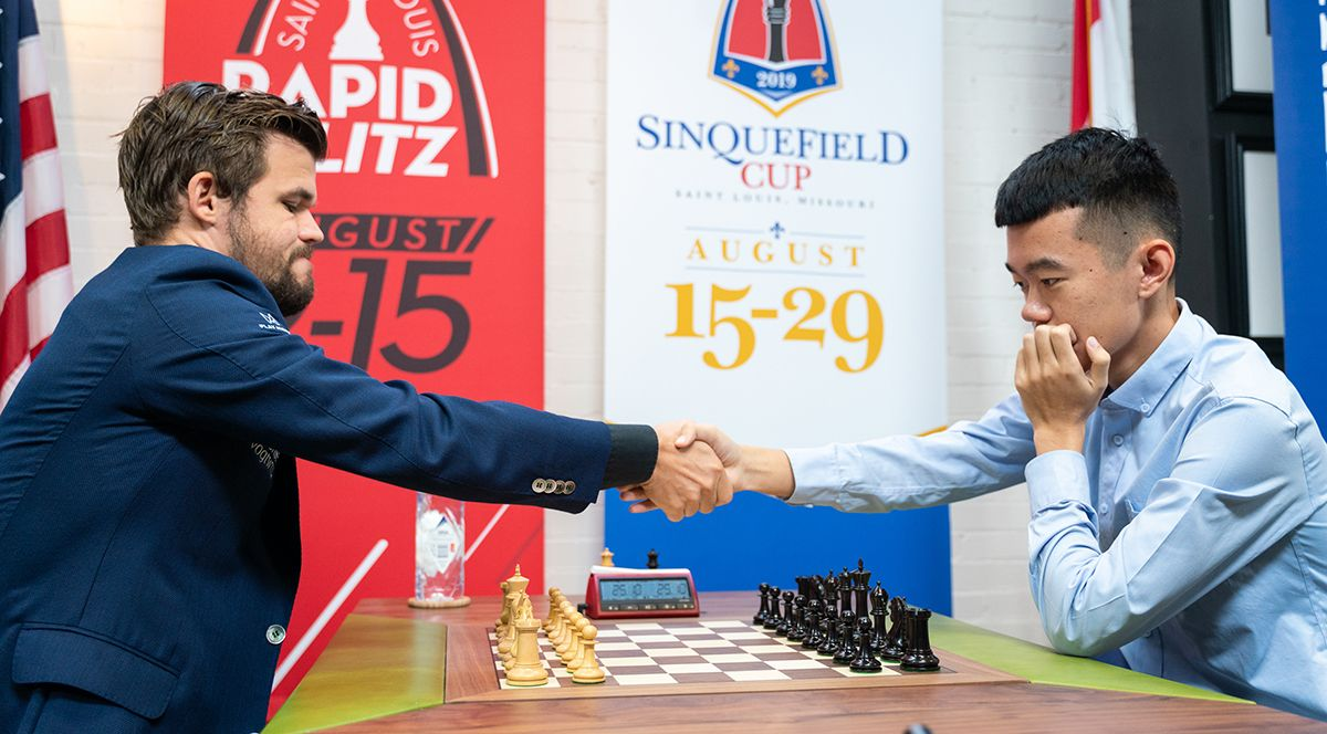 Chessable Masters Carlsen Ding