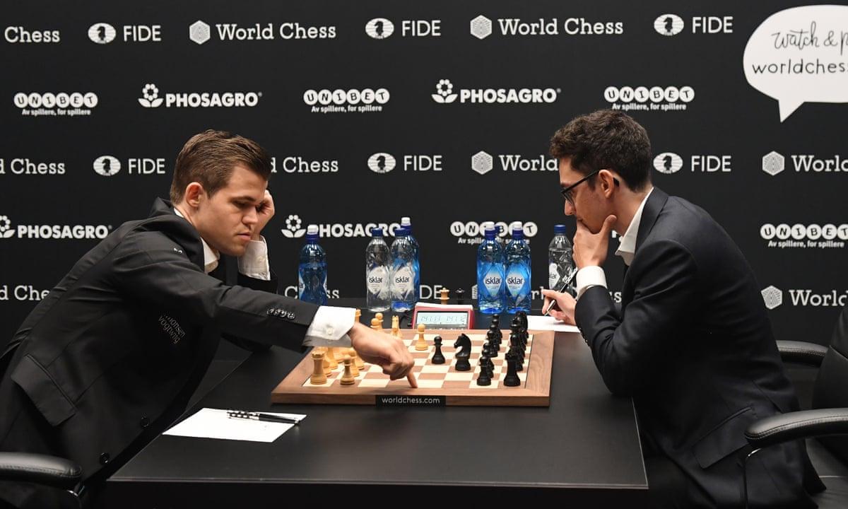 Chessable Masters Carlsen Caruana