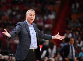 The NBA coaches' union shared concerns that some of its members may be adversely impacted by the league's Orlando protocols, including Houston Rockets coach Mike D'Antoni. (Image: Mark Brown/Getty)