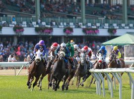 New Jersey's Monmouth Park will open with 25% capacity July 3 for 37 days of racing. (Image: Bill Denver/EQUI-PHOTO)