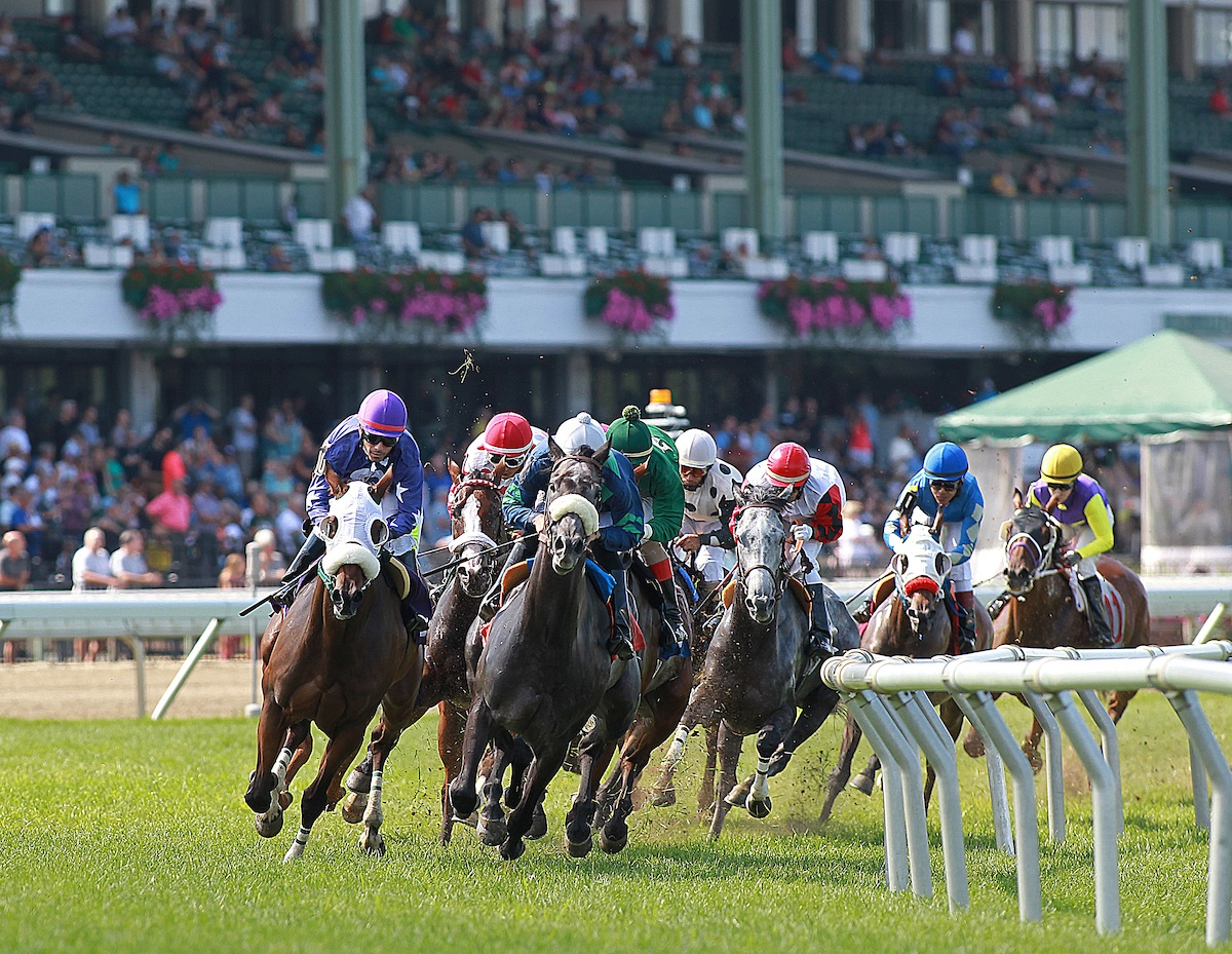 Monmouth Park Re-opening