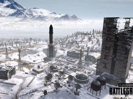 The Cosmodome on the Vikendi map for PUBG Mobile. (Image: Tencent Gaming)