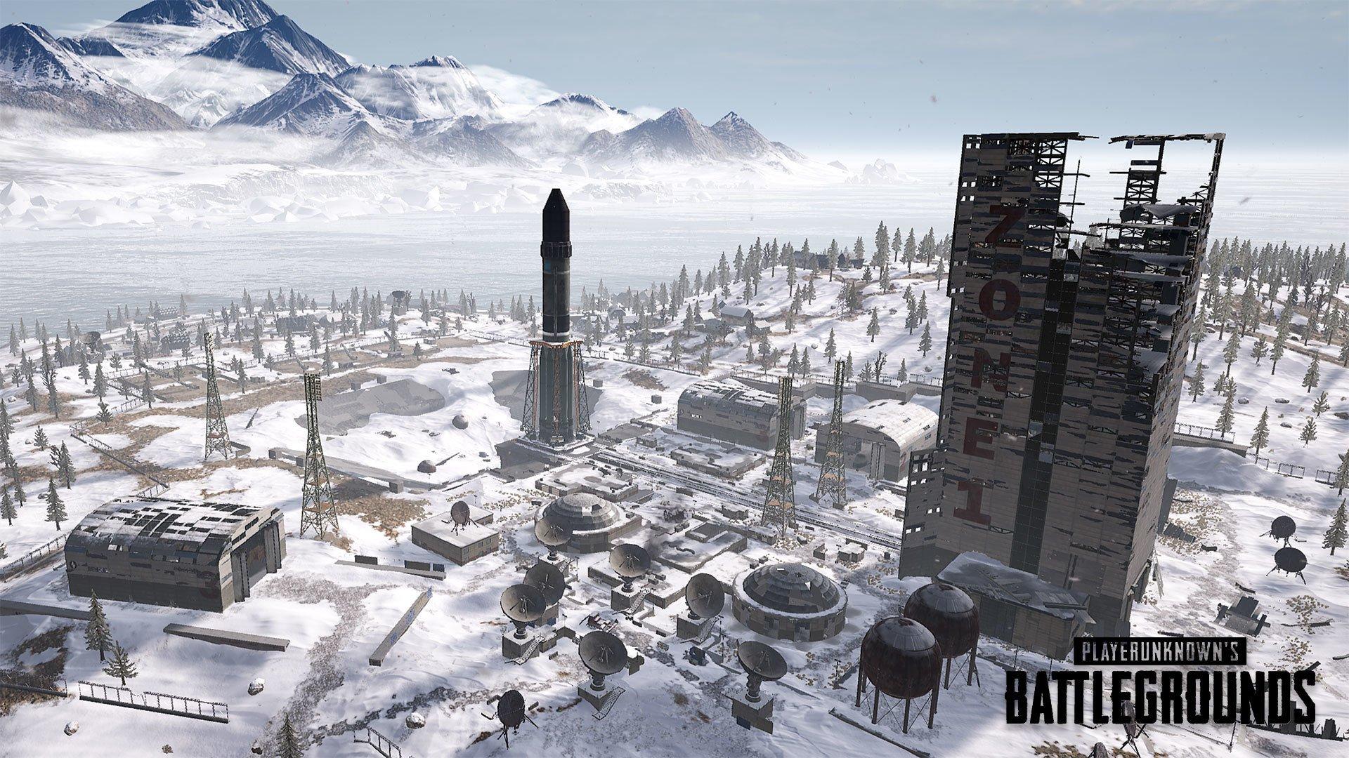 PUBG Vikendi Mobile Loot Best Map Tips Snow