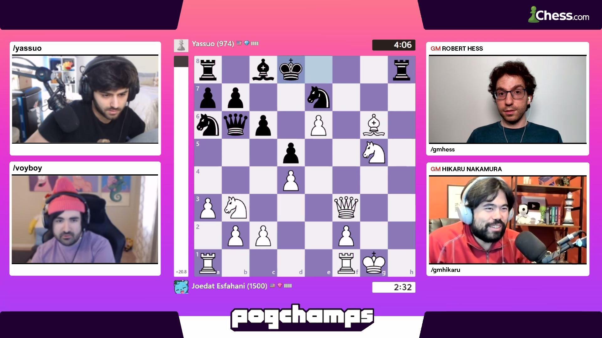 Pogchamps quarterfinals Hutch Voyboy