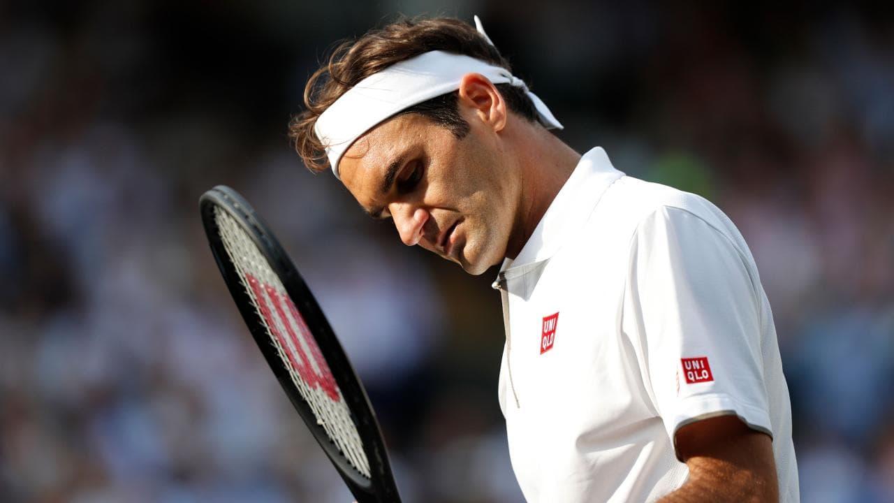 Roger Federer injury setback