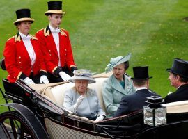 There will be no royal entrances at Royal Ascot this year. Queen Elizabeth II and her daughter, Princess Anne, are sitting this one out due to the coronavirus. (Image: Adrian Dennis/Getty)