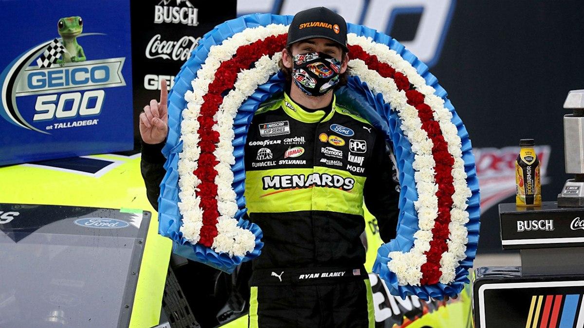 Ryan Blaney NASCAR Talladega