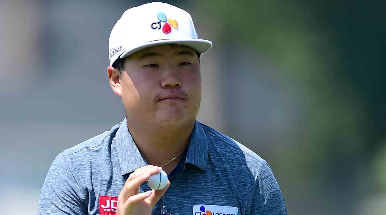 Sungjae Im Charles Schwab Challenge at Colonial