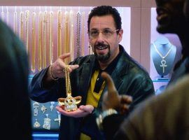 "Adam Sandler in the role of gambler and jeweler Howard Ratner in ""Uncut Gems"" by the Safdie Brothers. (Image: A24)"