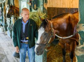 Veteran trainer Barclay Tagg and Tiz the Law are the team to beat in Saturday's 152nd Belmont Stakes. Tagg, 82, seeks his first Triple Crown title since Funny Cide won the Kentucky Derby and Preakness in 2003. (Image: NY Jockey Club)