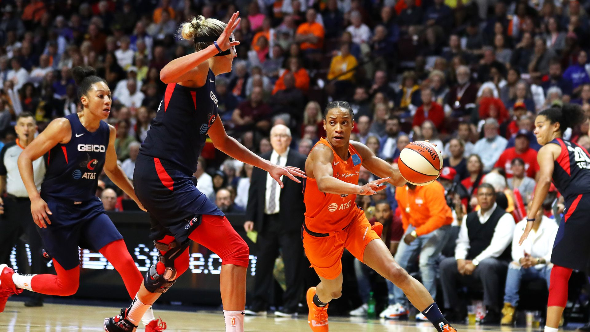 WNBA 2020 season site