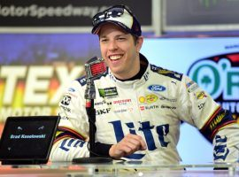 Brad Keselowski has won at Talladega five times, and is one of the favorites to capture Sunday's Geico 500. (Image: Getty)