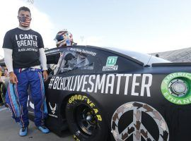 Bubba Wallace, NASCAR's only African-American Cup Series driver, said he has heard positive comments from fans about the confederate flag ban. (Image: AP)