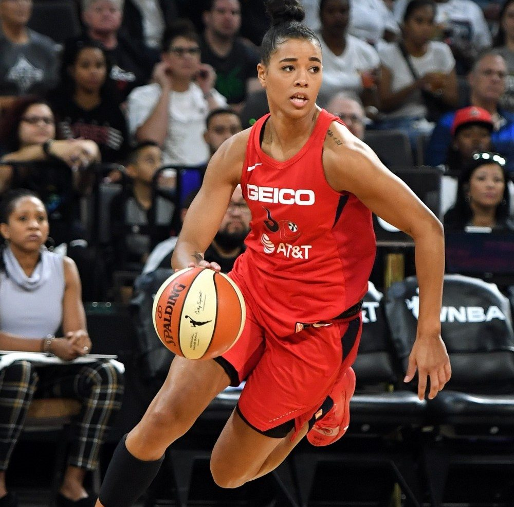 Natasha Cloud, firs professional woman basketball player to sign with Converse