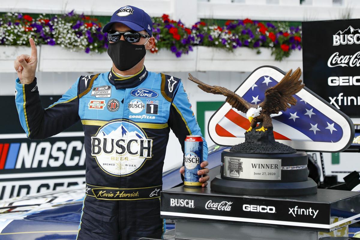 Kevin Harvick NASCAR Pocono doubleheader