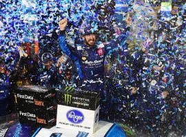 After capturing his first victory of the season Wednesday at Martinsville, Martin Truex Jr. is looking to make it two in a row at the Dixie Vodka 400 at Homestead-Miami. (Image: Getty)