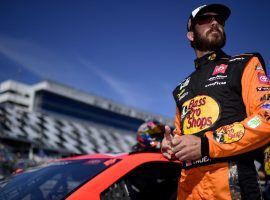 Martin Truex Jr. has an impressive record with Toyota at Martinsville Speedway, finishing in the top 10 in 10 of his last 12 races there. (Image: Getty)