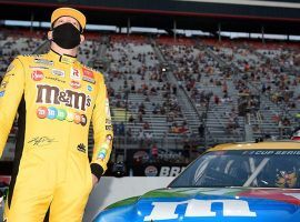 Kyle Busch has not won a Cup Series race since November 2019, but hopes he can break the slump at the O'Reilly Auto Parts 500. (Image: Getty)