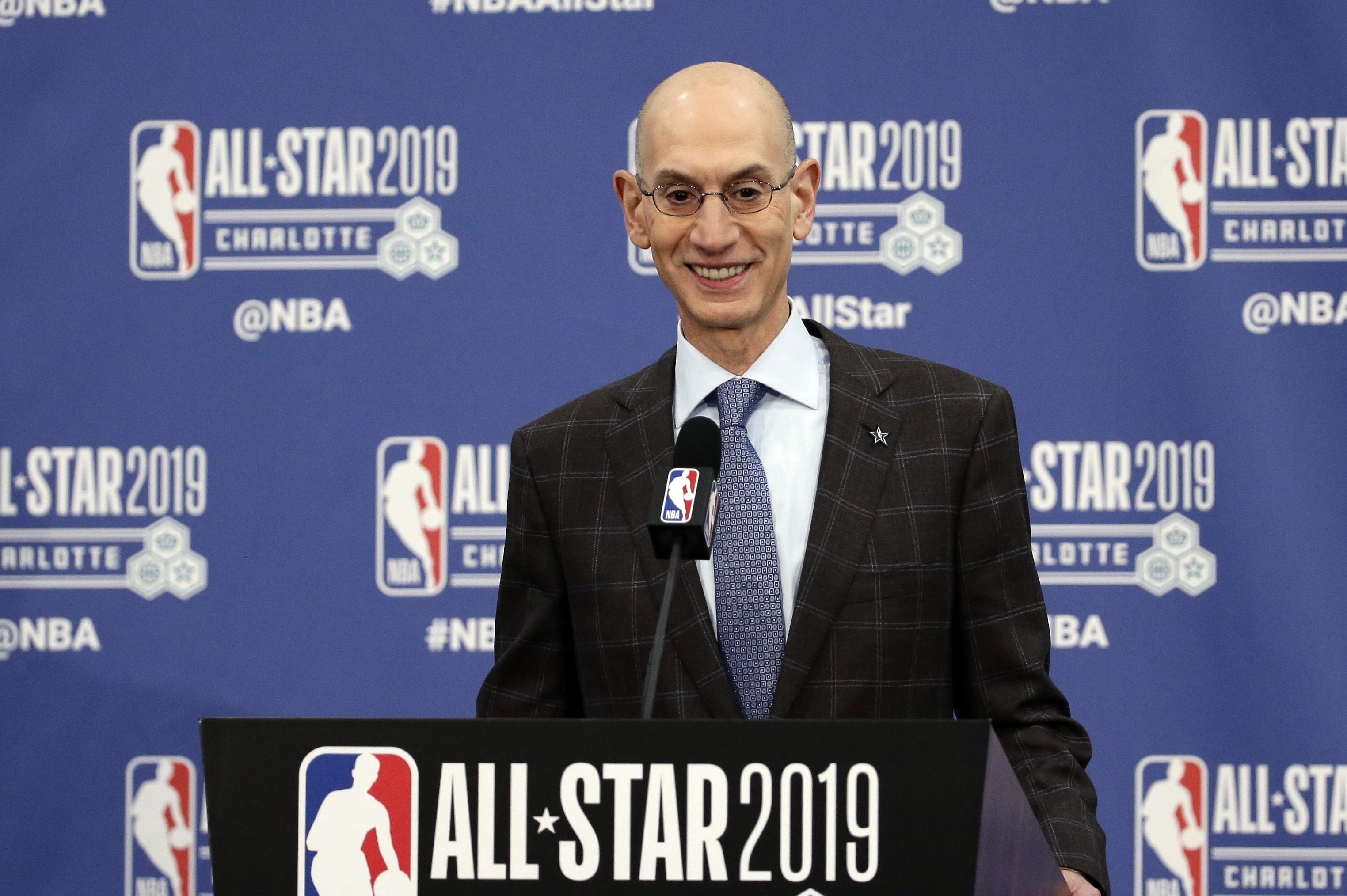 Adam Silver NBA restart