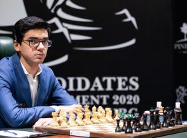 Anish Giri (pictured) will take on Magnus Carlsen in the finals of the Chessable Masters. (Image: Maria Emelianova/FIDE)