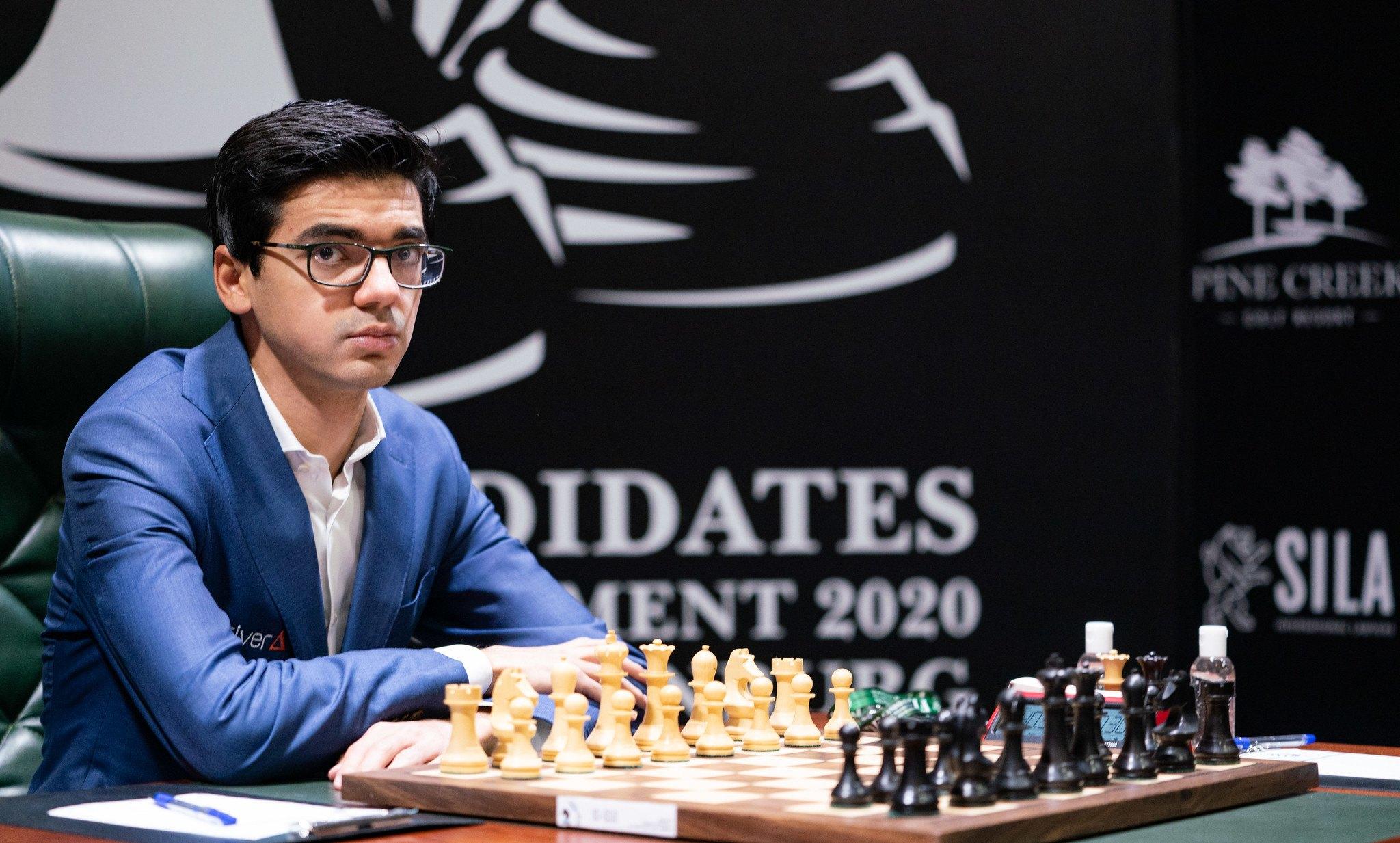 Chessable Masters Giri Carlsen