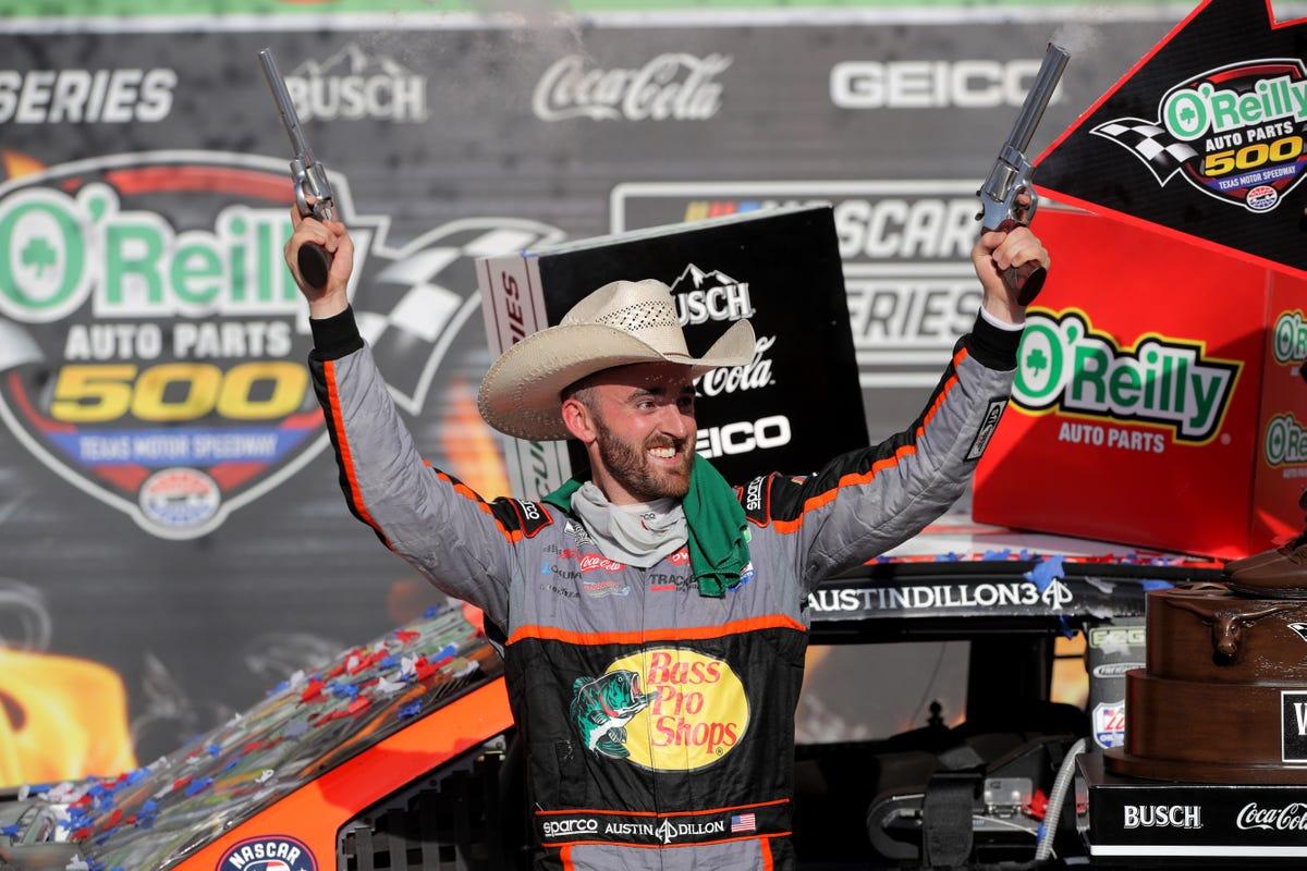Austin Dillon Texas NASCAR