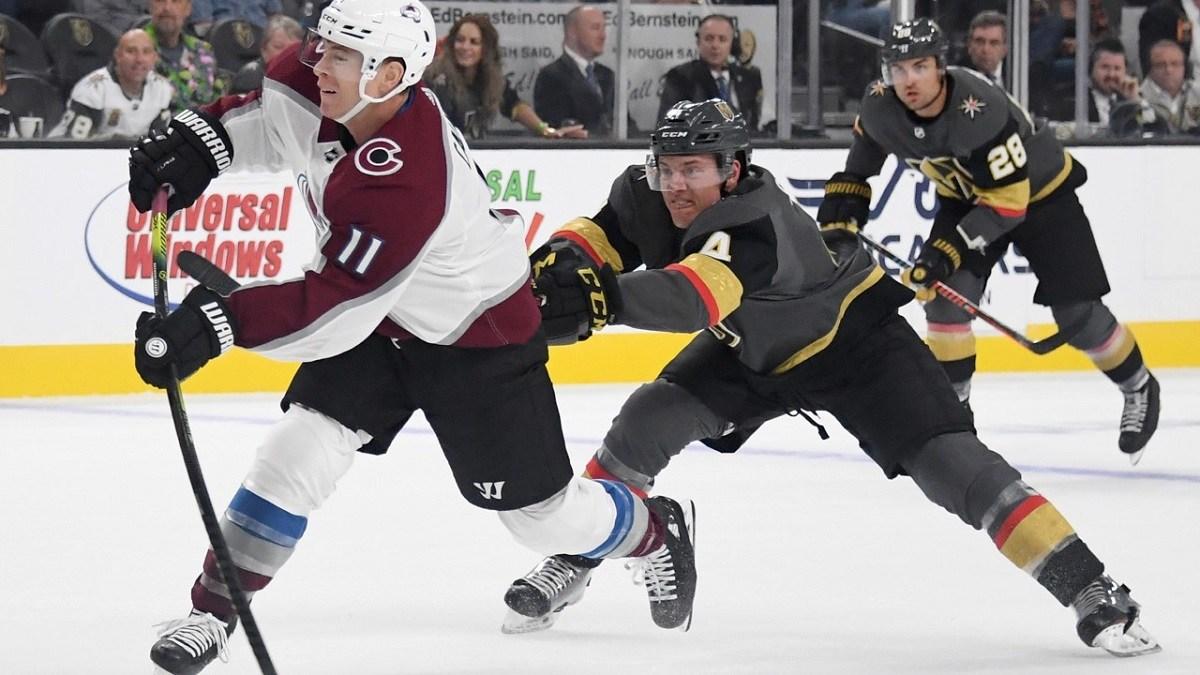 NHL restart playoffs West Western Conference Odds Colorado Vegas Avs Avalanche Golden Knights