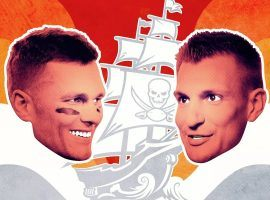 Tom Brady and Rob Gronkowski reunite with the Tampa Bay Bucs. (Image: The Ringer)