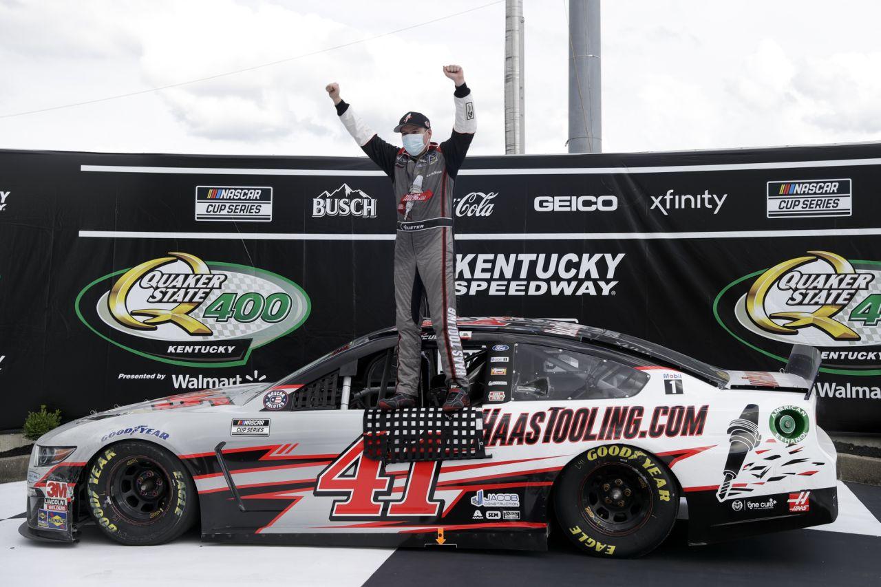 Cole Custer NASCAR Kentucky