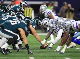 The Philadelphia Eagles and Dallas Cowboys will be vying for the NFC East title once again. (Image: Roland Martinez/Getty)