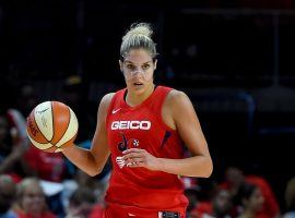 A panel of doctors denied Elena Delle Donne's request to be medically exempted from playing in the 2020 WNBA season. (Image: Will Newton/Getty)