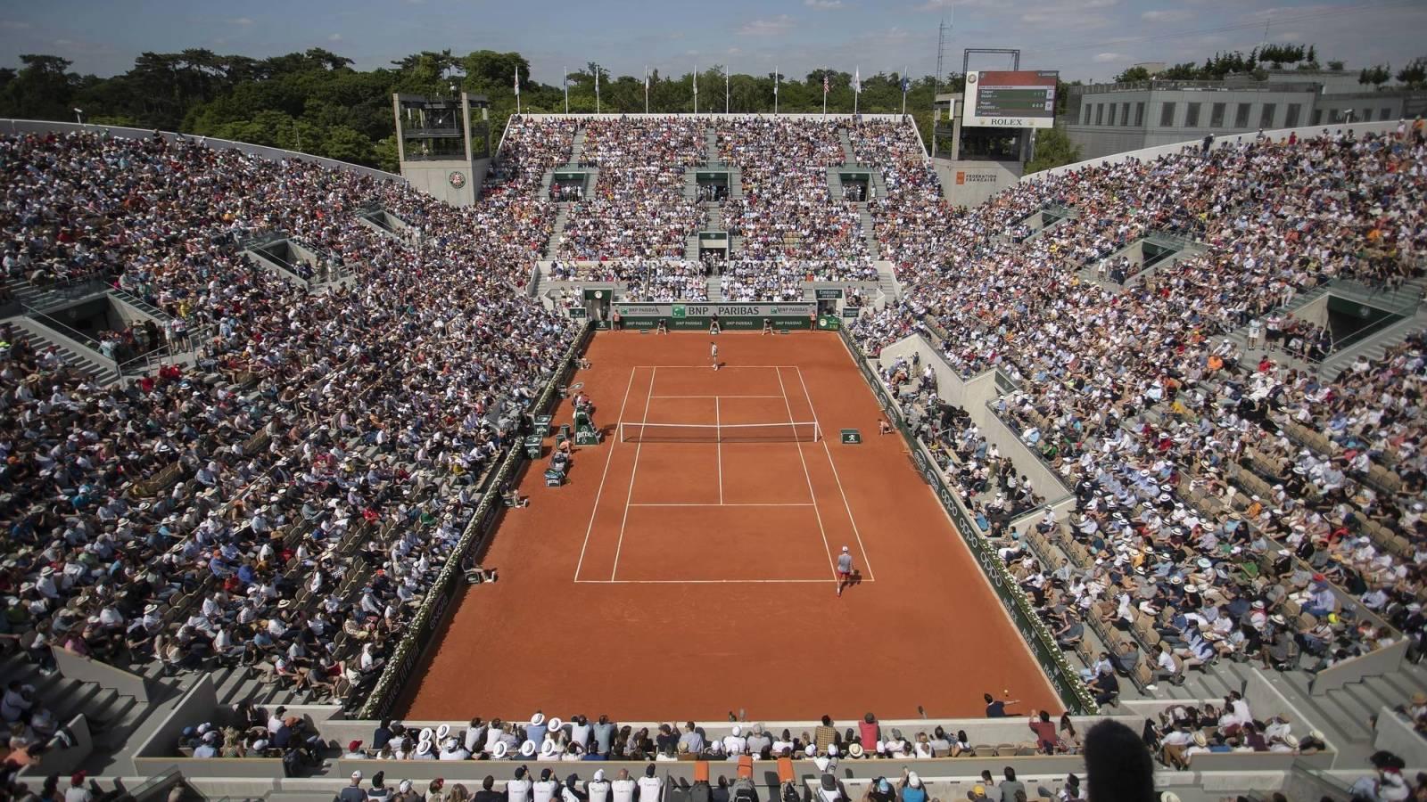 French Open fans
