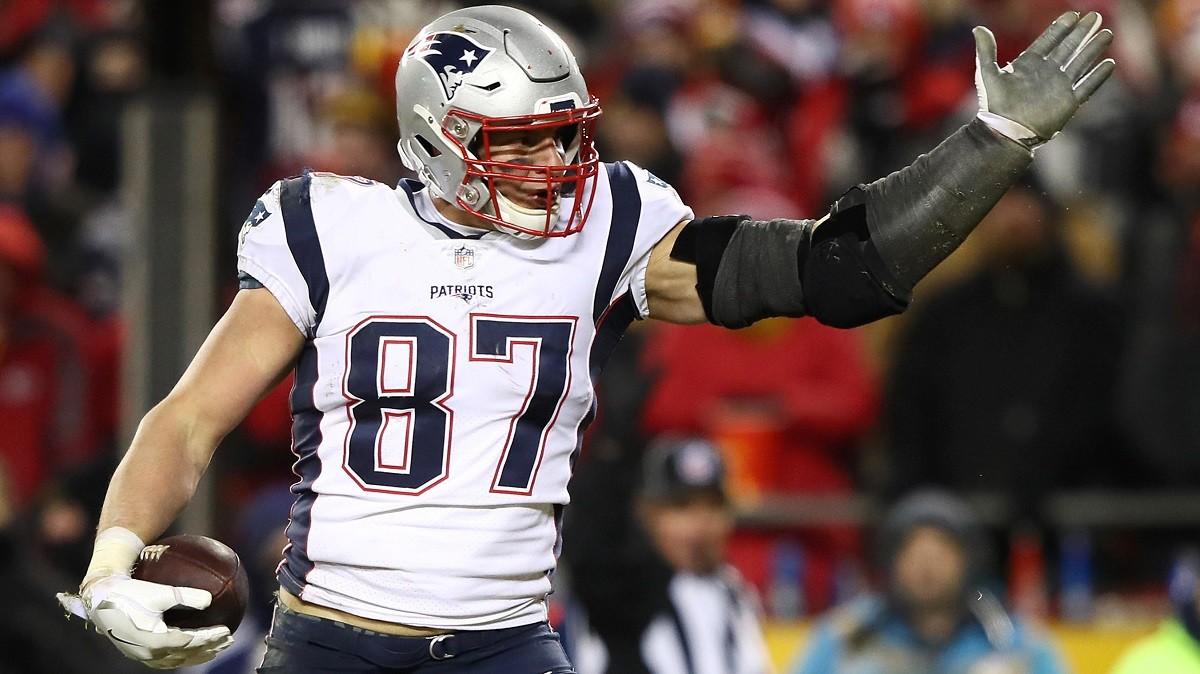 NFL Comeback Player of the Year Rob Gronkowski Gronk Big Ben Cam Newton
