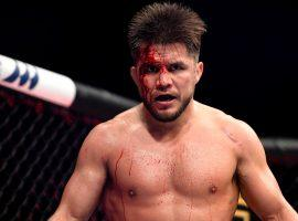 Former UFC champion Henry Cejudo (pictured) says he would step out of retirement to fight boxer Ryan Garcia. (Image: Douglas P. DeFelice/Getty)