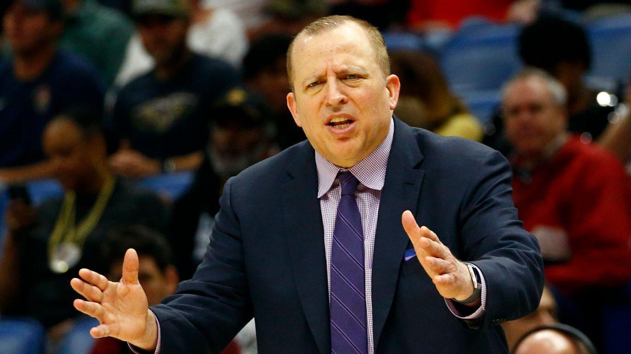 Tom Thibodeau Thibs New York Knicks Hire Head Coach