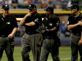 Nearly a dozen MLB umpires will sit out the 2020 season due to concerns over the coronavirus pandemic. (Image: Getty)
