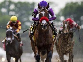 This front-running outing is what Major Fed's connections need to see to keep him on the Kentucky Derby Trail. He is the 7/2 second-choice to win Wednesday's Indiana Derby. (Image: Eclipse Sportswire)