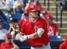 LA Angels star Mike Trout seeks a fourth MVP crown. (Image: Sue Ogrocki/AP)