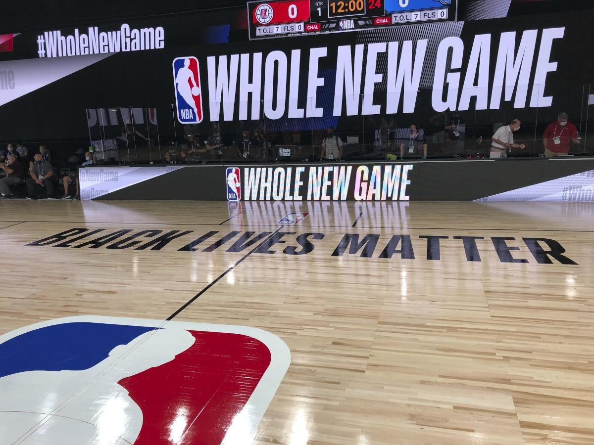 NBA bubble COVID-19 court