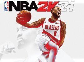 Portland Blazers star Damian Lillard will grace the cover of NBA 2K21. (Image: 2K Sports)