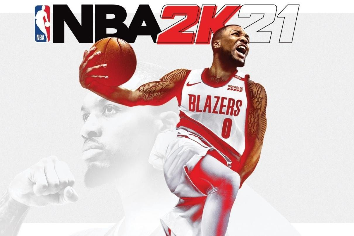 NBA 2K 2K21 Damian Lillard Cover