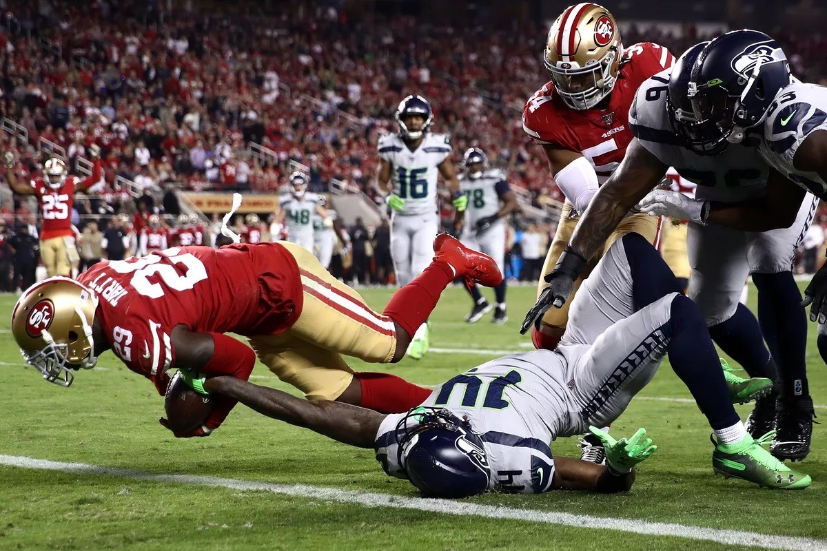 NFC West Odds San Francisco 49ers Niners Seattle Seahawks LA Rams Arizona Cardinals
