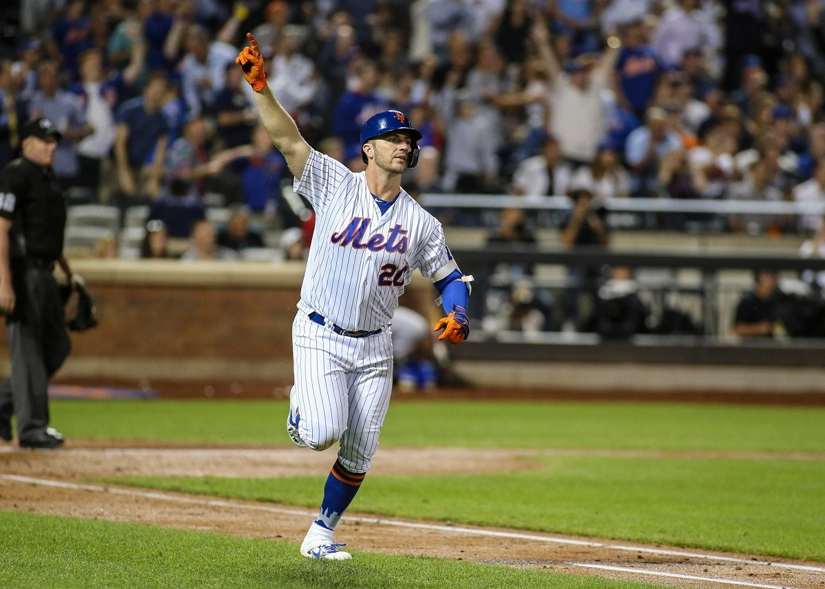 MLB Home RUn HR King Title Odds Pete Alonso Aaron Judge Cody Bellinger Mike Trout