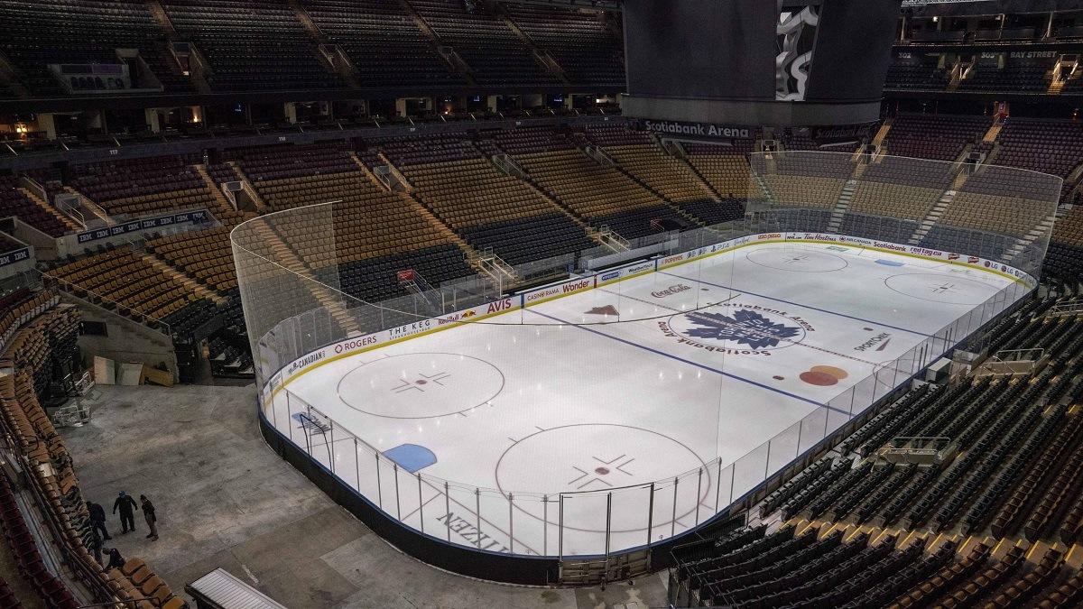 Toronto Edmonton Hub Cities NHL Playoffs Secure Zone