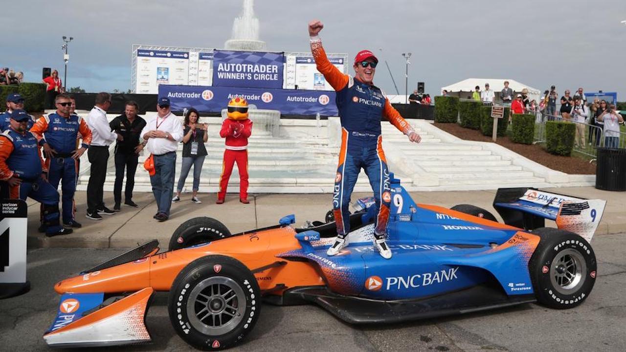 Scott Dixon GMR Grand Prix
