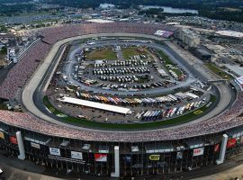 Officials at Dover International Speedway announced on Monday that fans will not be allowed this year's Aug. 21-23 NASCAR races. (Image: Dover International Speedway)