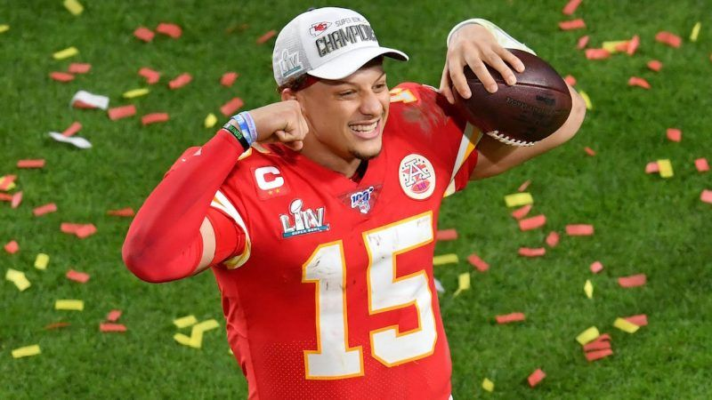 Patrick Mahomes is the highest-paid player in sports, and several sportsbooks are offering prop bets on the Kansas City quarterback. (Image: Sports Illustrated)